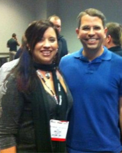 Horseflyer CJ with Matt Cutts at Pubcon 2011