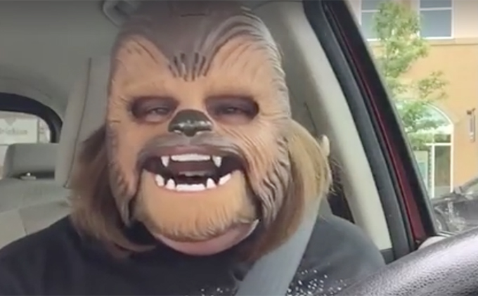 Chewbacca Mom Facebook Live