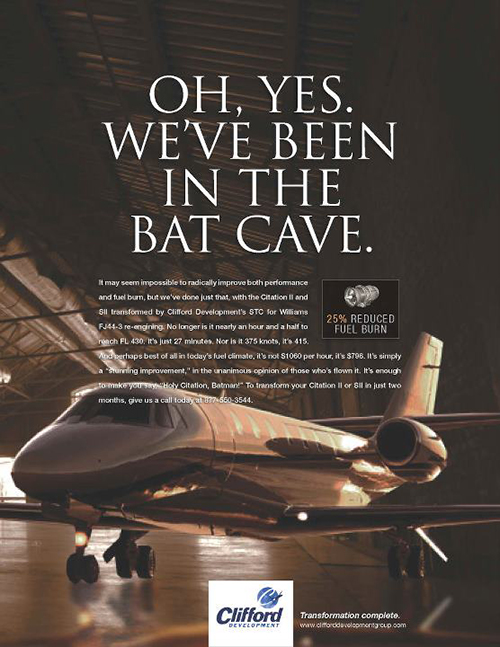 Clifford Bat Cave Ad